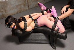 Ashley Renee & serious bondage & Dalton