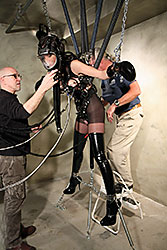 Ashley Renee & Serious bondage
