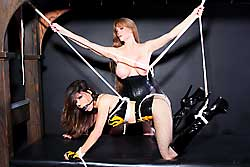 Ashley tied up by Darla Crane